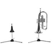 Manhasset Stand-In Stand-In Instrument stands for Trumpet, Flugelhorn.